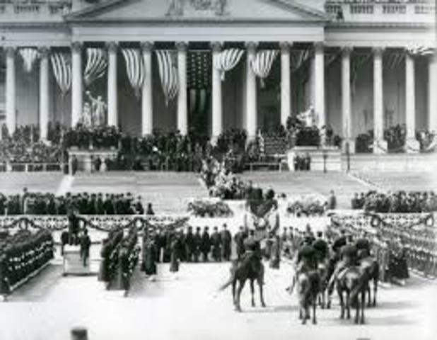 Theodore Roosevelt Second Inauguration