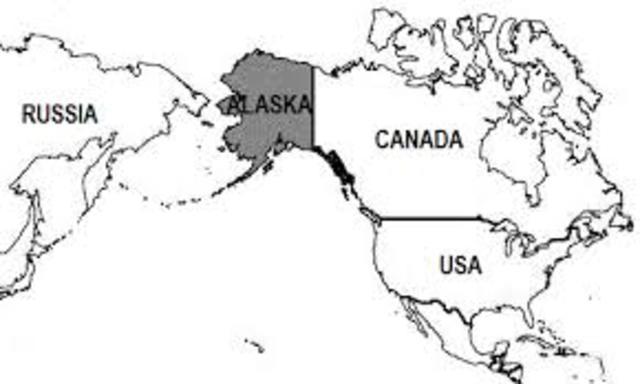 The USA buys Alaska