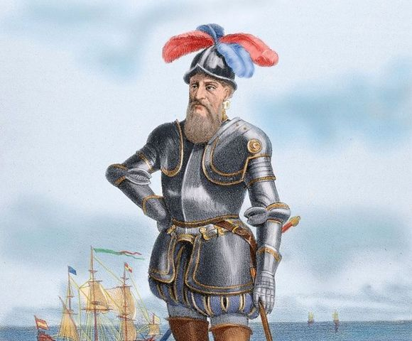 Francisco Pizarro y el Imperio Inca.