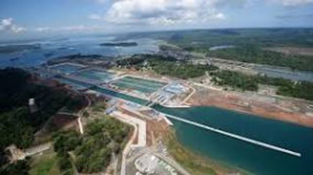 Panama Canal completed