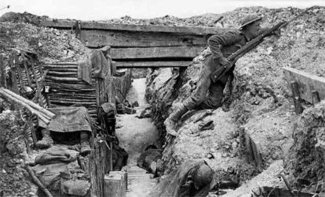 World War 1 begins (w/o U.S.)