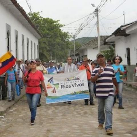 Protestas Ríos Vivos
