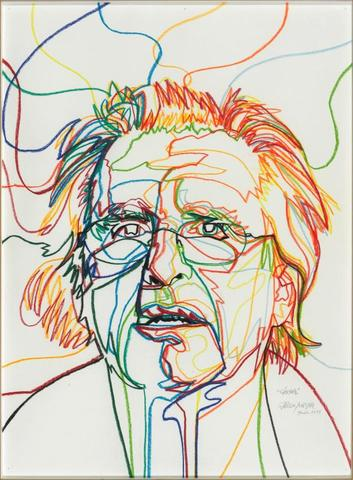 L'œuvre Gérard (Autoportrait) de Gérard Fromanger