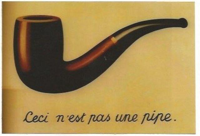 La trahison des images de Magritte