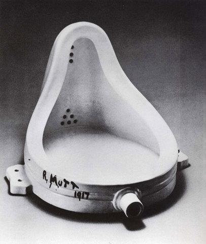 Fontaine de Marcel Duchamps