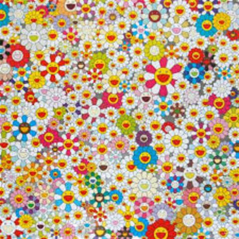 Flowers, flowers, flowers de Takashi Murakami