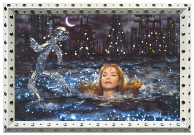 Ophélie (Isabelle Huppert) de Pierre et Gilles