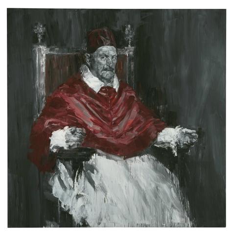 Pape Innoncent X de Yan Pei Ming