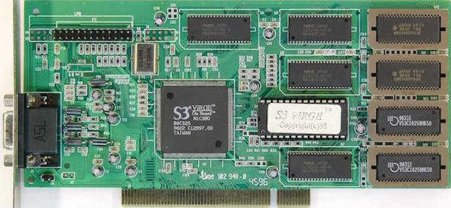 Видеоадаптер S3 ViRGE