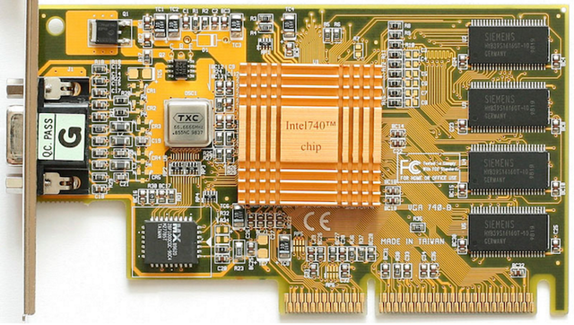 Видеоадаптер Intel i740