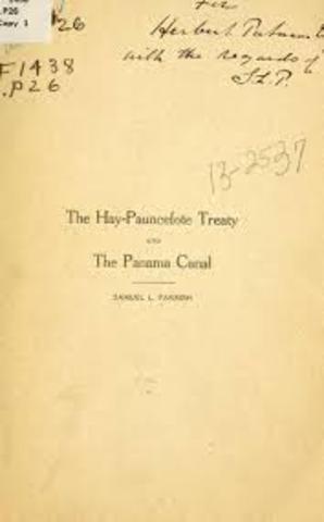 Panama Canal (Hay-Pauncefote Treaty)