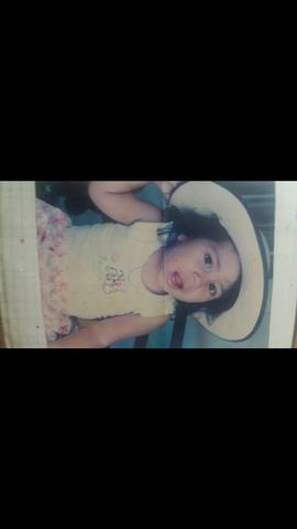 esta soy a mis dos años de edad