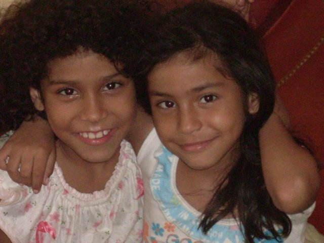 pijamada con mi hermana