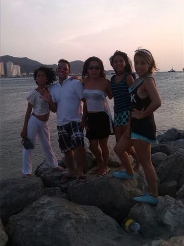 salida a la playa en familia