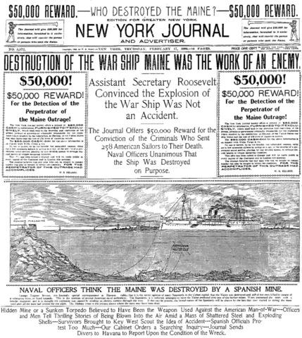 Yellow Journalism (Spanish-American War)