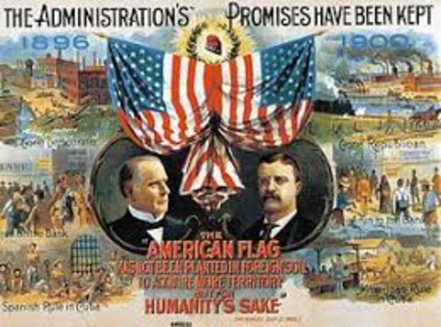 Election of 1900 (Spanish-American War)