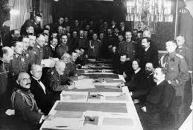 Treaty of Brest-Litovsk (World War I)