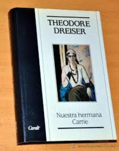 Theodore Dreiser, Sister Carrie