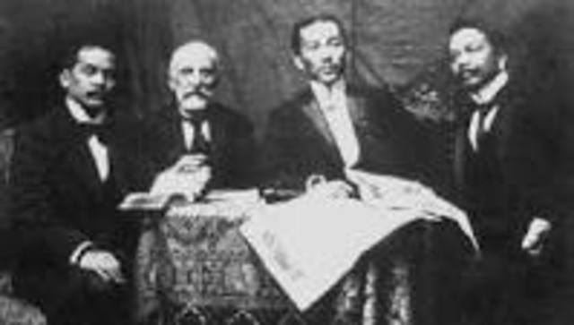 The Treaty of Paris Is Signed By Representatives From TheU.S. and Spain