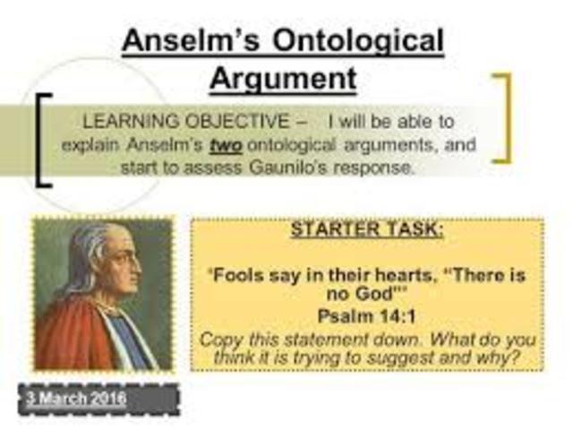 Ontological argument