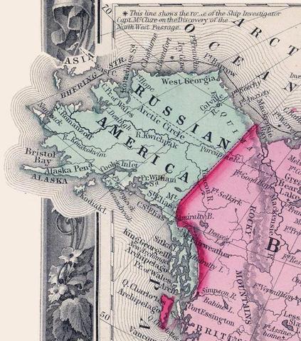 Russo american treaty