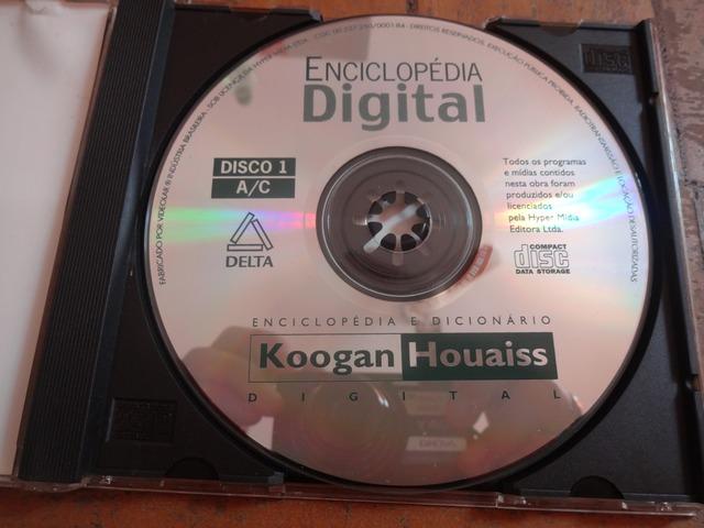 CD-ROM: enciclopédias em um disco