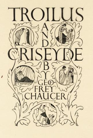 Chaucer completes his  long poem