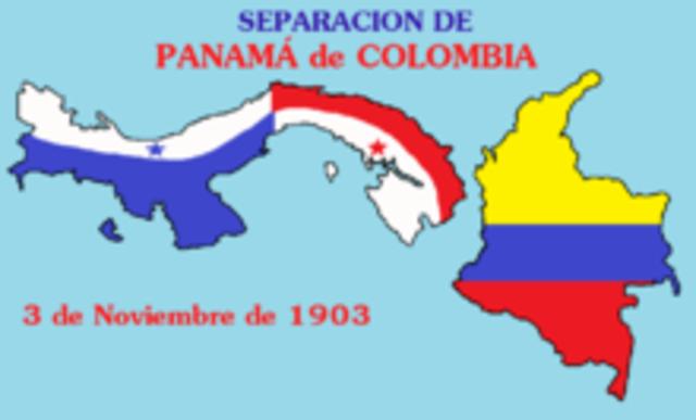 Roosevelt helps Panama secede