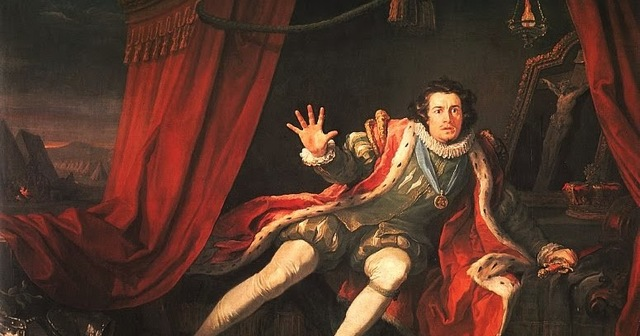 William Shakespeare as an actor