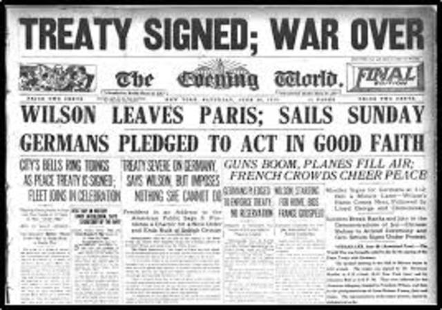 Treaty of Versailles (World War I)