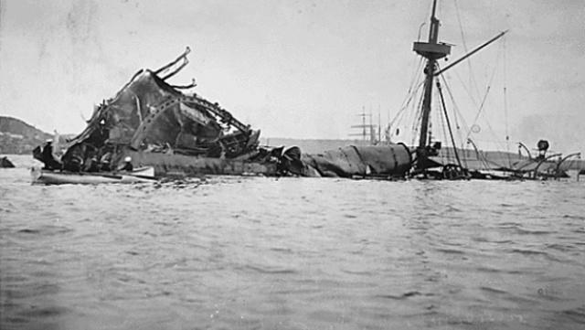 Spanish American War (Sinking of the USS Maine)
