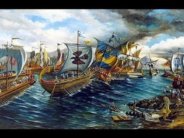 Batalla naval de Salamina.