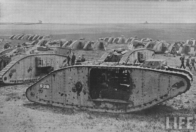 Creación del primer tanque (Ingeniería Militar)