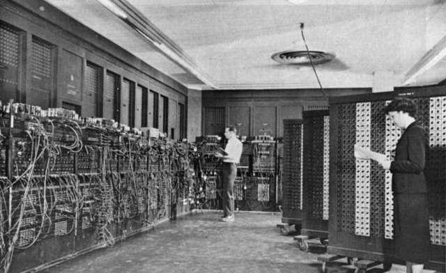 Computadora ENIAC para los militares