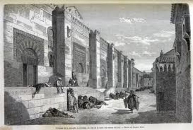Construcción Mezquita de Córdoba