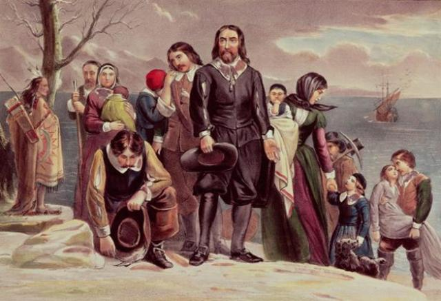Begins a journal of the Pilgrims' experience