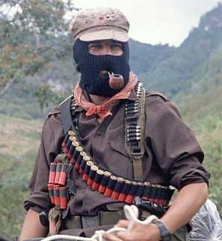 Se alza el EZLN