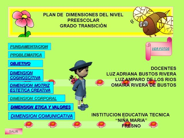 Plan de Estudios para todos los niveles