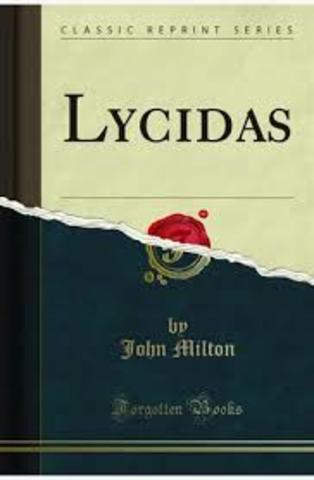 Lycidas By Milton