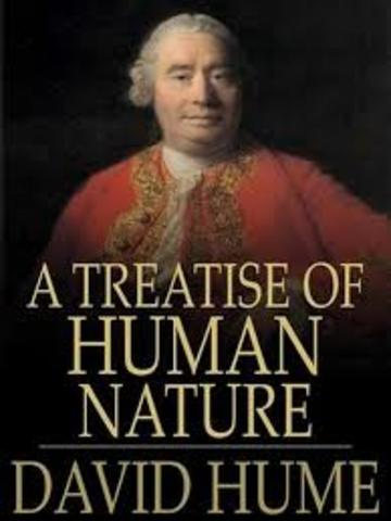 David Hume publishes his Treatise of Human Nature