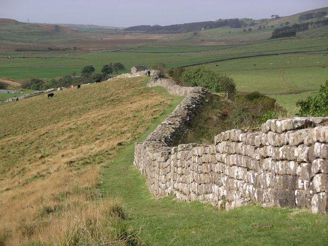 Roman guard Hadrian's Wall