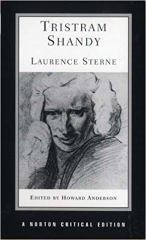 Publishes the first two volumes of Tristram Shandy