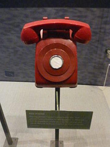 L'établissement du téléphone rouge