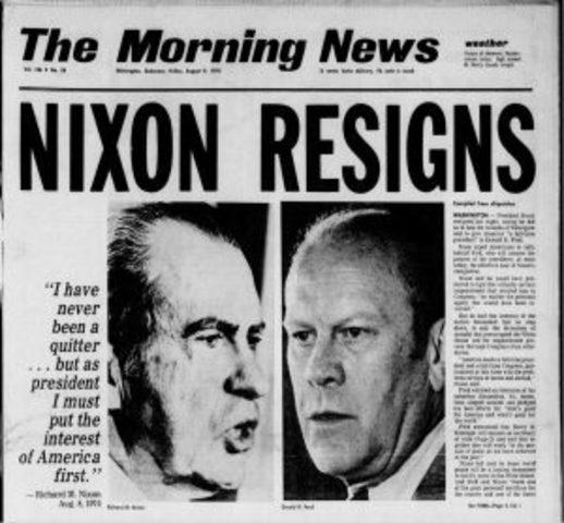 Le scandale Watergate