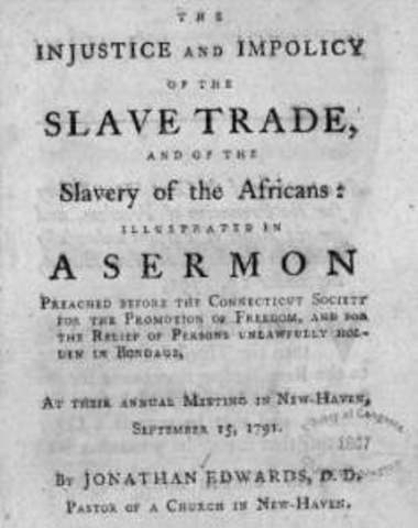 Slave trade is banned