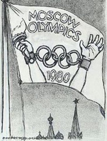 Boycott des Jeux Olympiques en Moscou