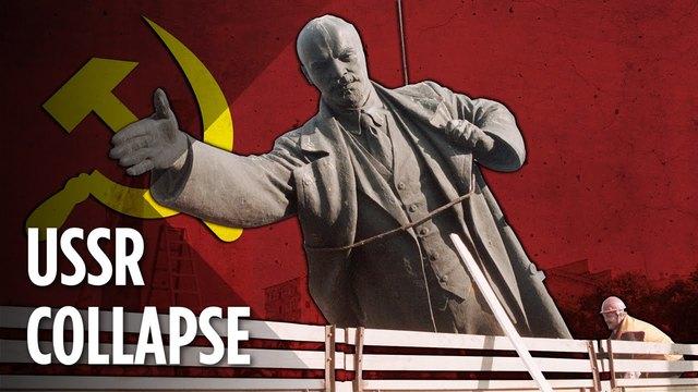 L'URSS collapse
