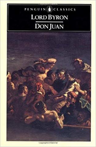 Don Juan By Byron begins