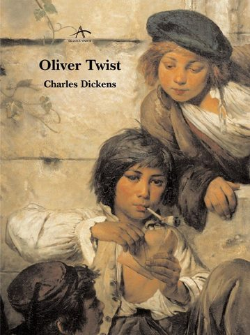 Charles Dickens' first novel, Oliver Twist