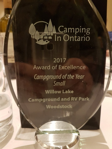 Winner of Small Campground of the Year